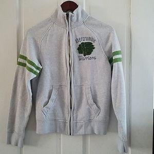 "Abercrombie  ""muscle"" zip-up sweatshirt"